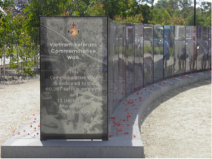 The Vietnam Veterans Commemorative Walk in Seymour. A must do for anyone with an interest in Australian Military History
